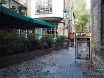 Eagle Pub i Cambridge arkivfoto