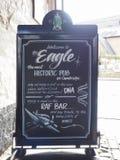 Eagle Pub i Cambridge royaltyfri bild