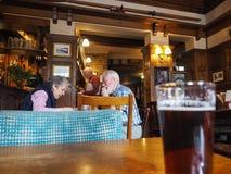 Eagle Pub i Cambridge arkivbild