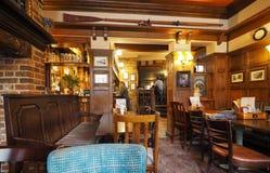 Eagle Pub i Cambridge royaltyfri fotografi