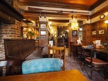 Eagle Pub i Cambridge arkivbilder