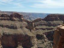 Eagle punkt, himmel går, Grand Canyon Royaltyfri Fotografi