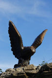 Eagle. Pyatigorsk Emblem. Northern Caucasus landmarks Royalty Free Stock Image