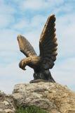 Eagle. Pyatigorsk Emblem. Northern Caucasus landmarks. The Eagle. Pyatigorsk Emblem. Northern Caucasus landmarks Royalty Free Stock Photography