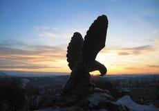 Eagle. Pyatigorsk Emblem. Northern Caucasus landmarks Royalty Free Stock Images