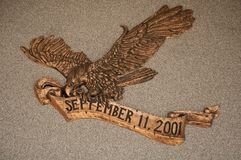 Eagle of remembrance Stock Photography