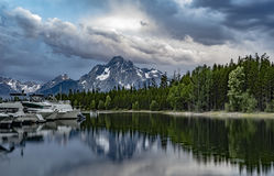 Eagle-Restspitze Lizenzfreies Stockfoto