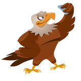 Eagle robi selfie Obrazy Stock