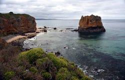 Eagle Rock an Aireys-Einlass auf der großen Ozean-Straße Lizenzfreies Stockbild
