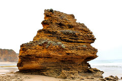 Eagle Rock langs de Grote Oceaanweg Stock Foto's