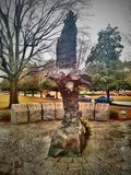 Eagle Rock. Memorial to Medal of Honor recipients at Arkansas State Capitol Stock Photos