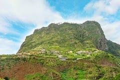 Eagle Rock, Penha de Aguia, Madeira Fotografia de Stock Royalty Free