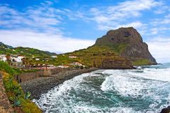 Eagle Rock , Penha de Aguia, Madeira Stock Photos