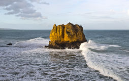 Eagle Rock Volcanic Stack Stock Photography
