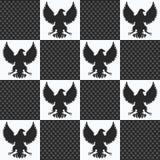Eagle rocznika bezszwowa tekstura Obrazy Royalty Free