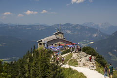 Eagle's Nest at the Kehlstein, Obersalzberg in Germany, 2015 stock image
