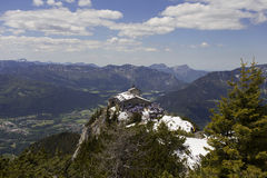 Eagle's Nest (Kehlsteinhaus). At Obersalzberg in Berchtesgaden, Germany Royalty Free Stock Photos