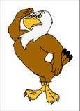 Eagle Salute chauve américain Photographie stock