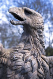 Eagle sculpture. Made of stone Royalty Free Stock Image