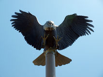 Eagle sculpture Stock Photography
