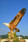 Eagle sculpture in Kuah town, Langkawi, Malaysia Stock Photography
