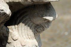 Eagle sculpture Stock Images