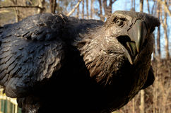 Eagle sculpture in Living Museum, Newport News, VA Stock Photos