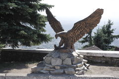 Eagle sculpture in Pyatigorsk Royalty Free Stock Image