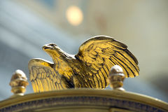 Eagle Sculpture in Utah State Capitol Stock Photography