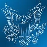 Eagle Shield Stock Photography