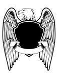 Eagle shield Stock Photo