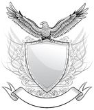 Eagle Upon The Shield Royalty Free Stock Images