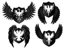 Eagle Shields Immagini Stock Libere da Diritti