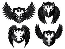 Eagle Shields Royalty Free Stock Images