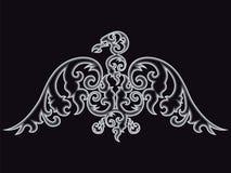 Eagle silhouette. Stock Image
