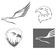Eagle simbols Royalty Free Stock Photos