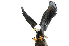 Eagle-Skulptur Stockbild
