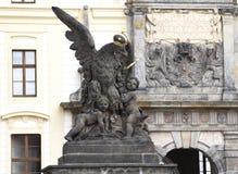 Eagle-Skulptur Lizenzfreie Stockbilder