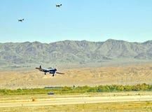 Eagle Squadron Returning To Base rosso immagini stock libere da diritti
