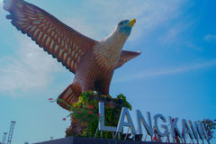Eagle Square em Langkawi Imagem de Stock