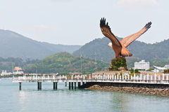 Eagle Square Langkawi Stock Photos