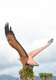 Eagle Square. Langkawi island, Malaysia. Eagle Square Royalty Free Stock Photography
