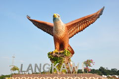Eagle Square. In Langkawi, Malaysia Royalty Free Stock Photo