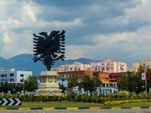 Eagle Square Tirana, Albanien 2018 royaltyfria foton