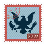 Eagle stamp Stock Images
