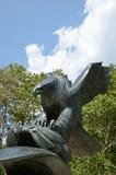 Eagle-standbeeld - Oostkustgedenkteken, de Stad van New York Royalty-vrije Stock Afbeeldingen