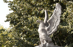 Eagle statua Zdjęcia Stock