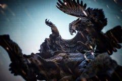 Eagle Statue immagine stock libera da diritti