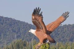 Eagle Statue Lizenzfreies Stockfoto