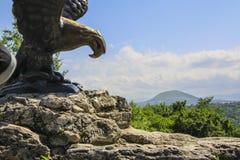 Eagle Statue Lizenzfreies Stockbild